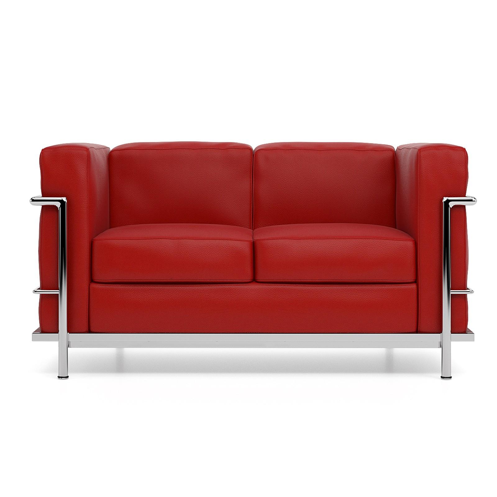 Canapé Lc2 Salon Le Corbusier