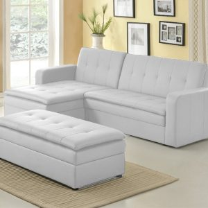 canape dangle convertible simili cuir blanc canap id es de d coration de maison d6lewazbbp. Black Bedroom Furniture Sets. Home Design Ideas