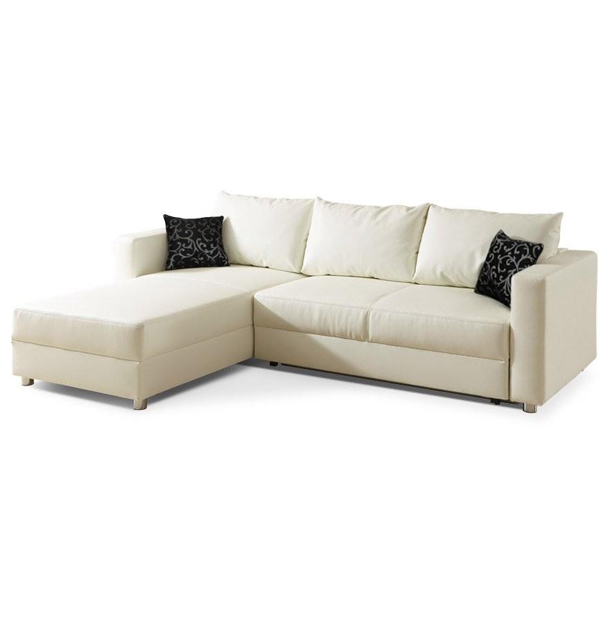 Canapé Simili Cuir Noir Ikea