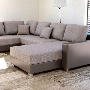 canap angle beige taupe canap id es de d coration de. Black Bedroom Furniture Sets. Home Design Ideas