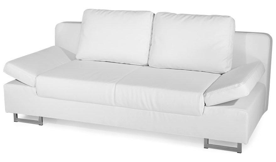 Canape En Cuir Convertible Blanc