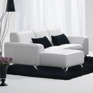 petit canape cuir convertible canap id es de. Black Bedroom Furniture Sets. Home Design Ideas