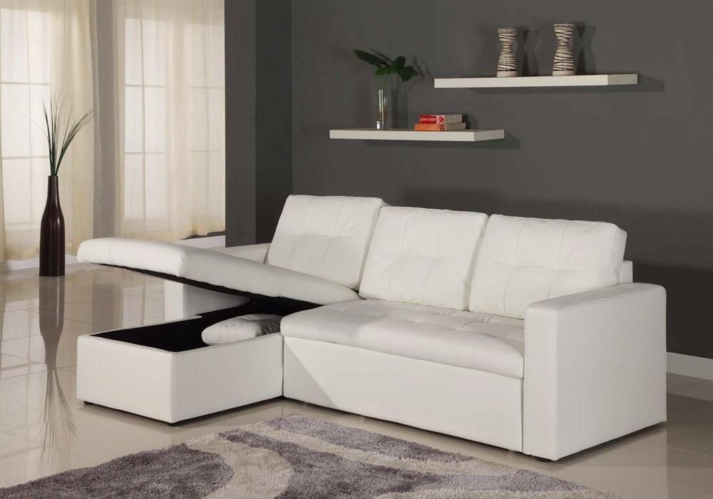 Petit Canapé D'angle Blanc