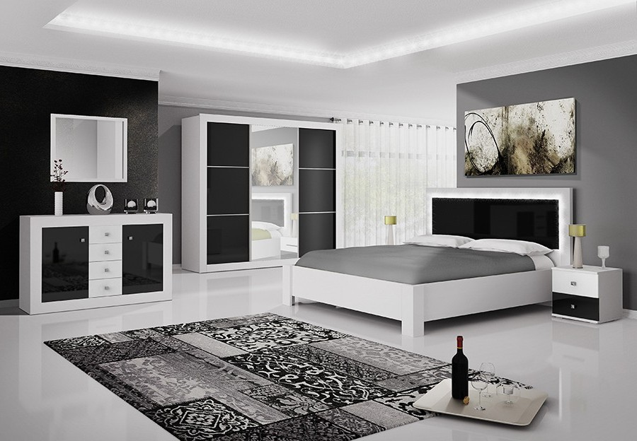 armoire blanche chambre adulte armoire id es de. Black Bedroom Furniture Sets. Home Design Ideas