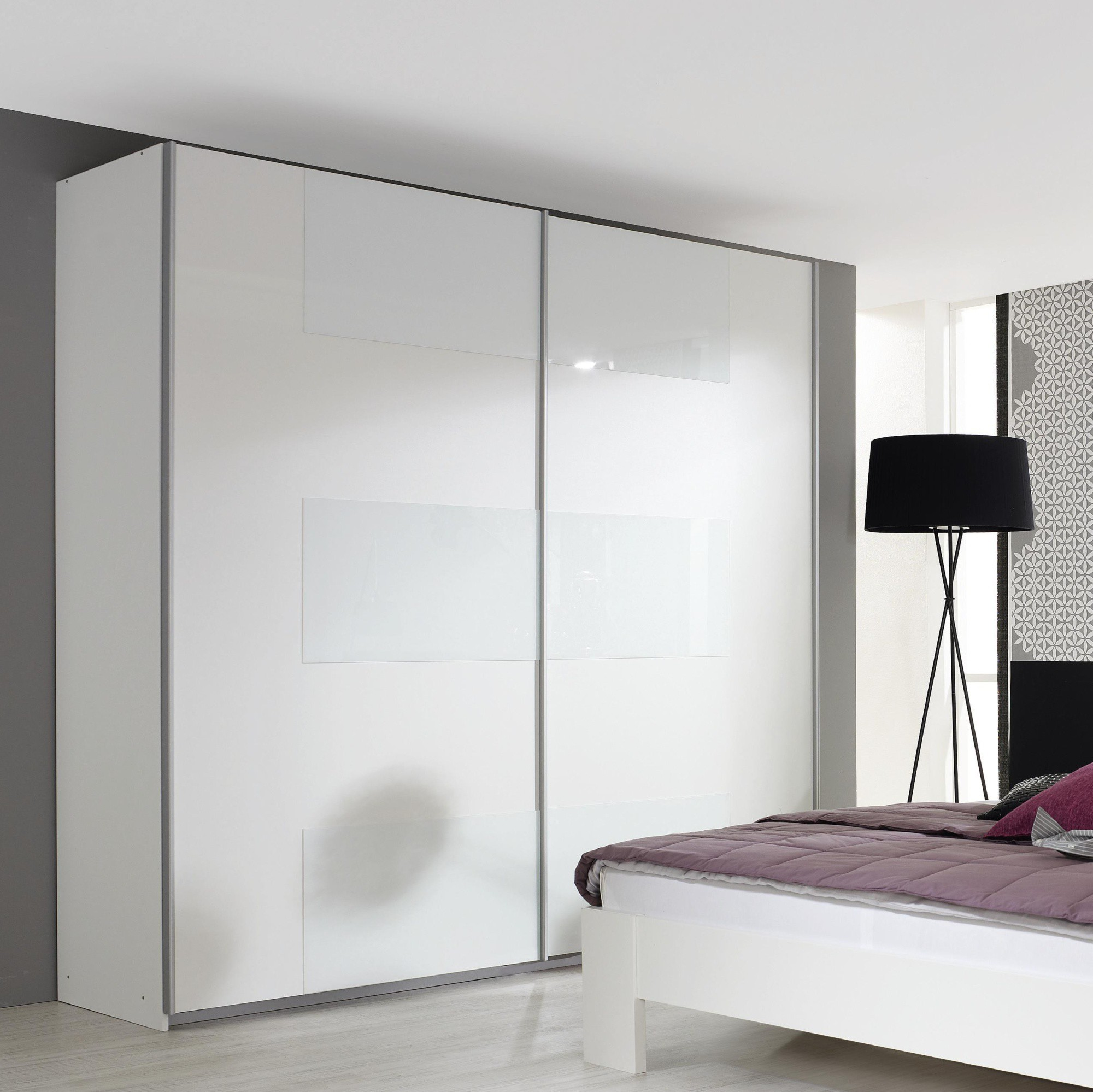 Armoire Blanche Coulissante Chambre
