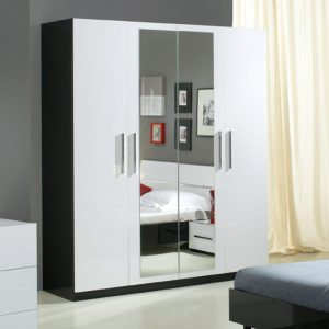 armoire chambre blanche 3 portes armoire id es de. Black Bedroom Furniture Sets. Home Design Ideas