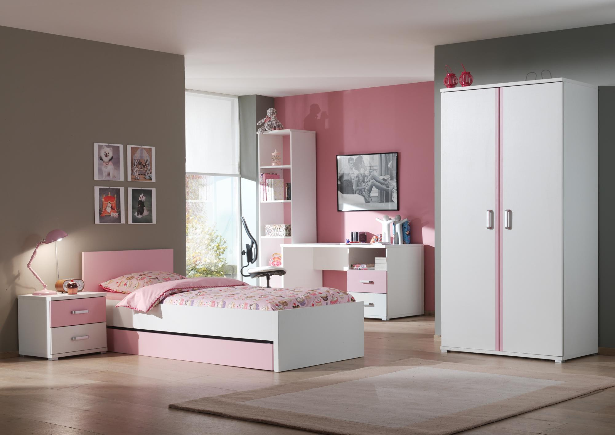 armoire fille conforama finest armoire portes teddy. Black Bedroom Furniture Sets. Home Design Ideas