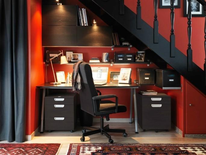 Armoire De Rangement Ikea Bureau
