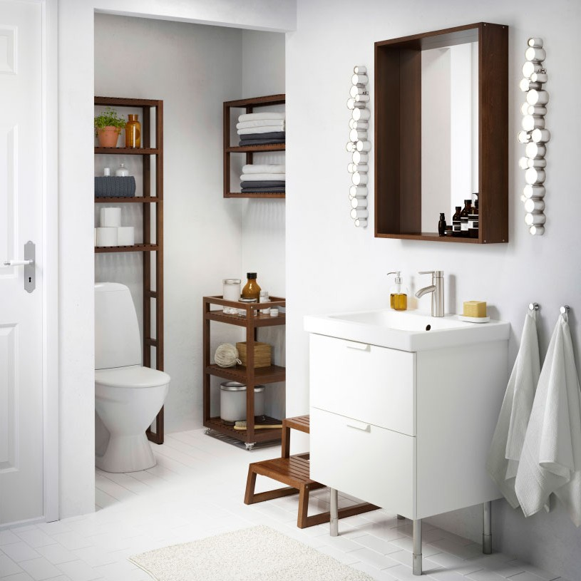 armoire de salle de bain avec miroir ikea armoire. Black Bedroom Furniture Sets. Home Design Ideas