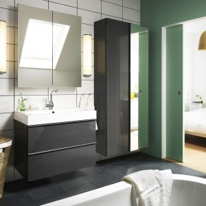 armoire de toilette salle de bain 120 cm armoire id es. Black Bedroom Furniture Sets. Home Design Ideas
