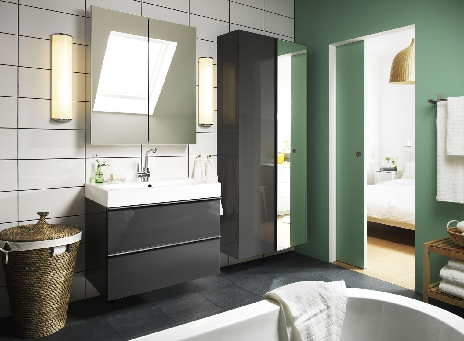 armoire de toilette salle de bain ikea armoire id es. Black Bedroom Furniture Sets. Home Design Ideas