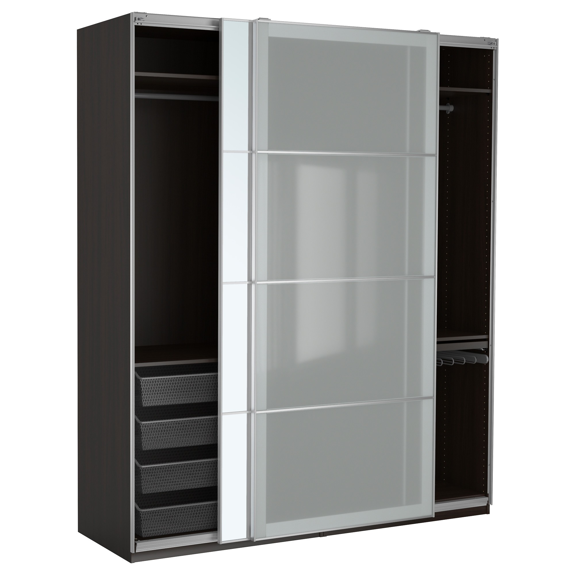 armoire double penderie ikea armoire id es de. Black Bedroom Furniture Sets. Home Design Ideas