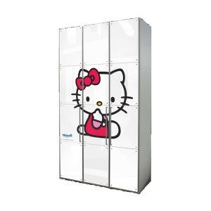 Armoire En Bois Hello Kitty