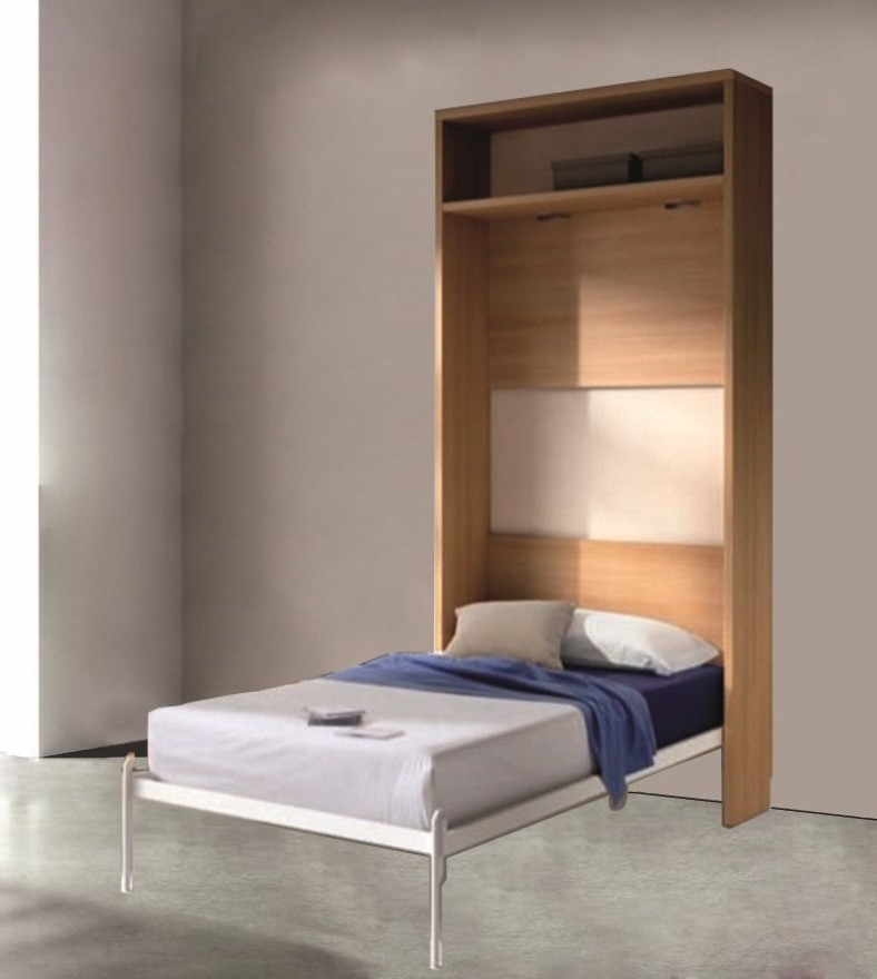 Affordable armoire lit rabattable ikea with lit abattant ikea for Lit escamotable plafond ikea