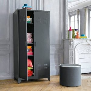 armoire metallique pour chambre armoire id es de. Black Bedroom Furniture Sets. Home Design Ideas