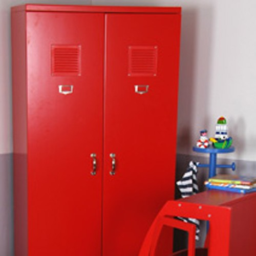 Armoire Metallique Rouge Fly
