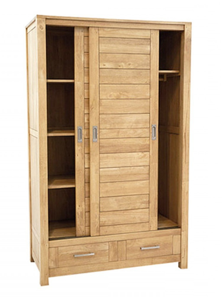 Armoire Penderie Bois Massif Mobilier