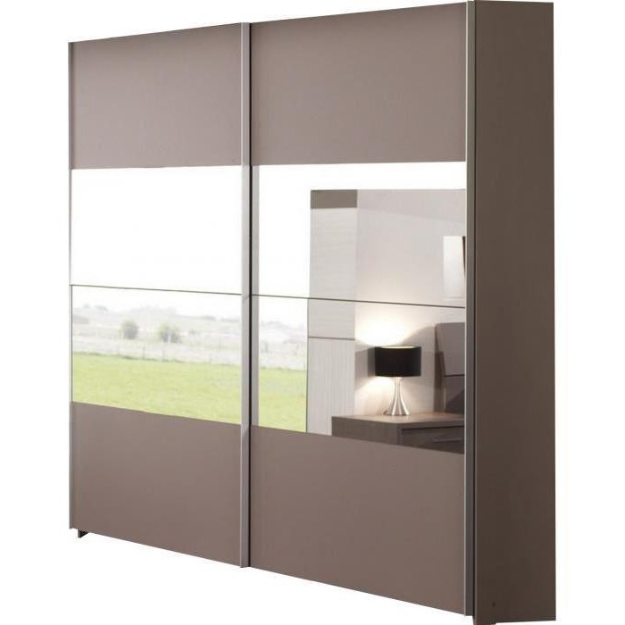 Armoire porte coulissante conforama cheap decoration for Meuble penderie porte coulissante