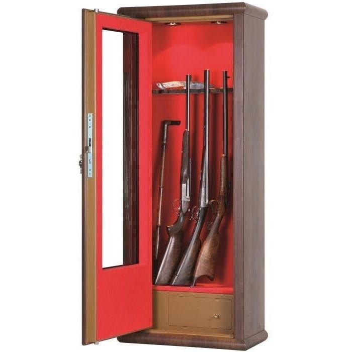 Armoire Pour Fusil En Bois