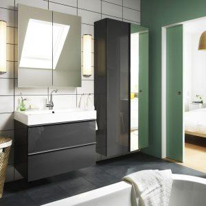 Am nagement salle de bain 3m2 salle de bain id es de for Ikea armoire salle de bain