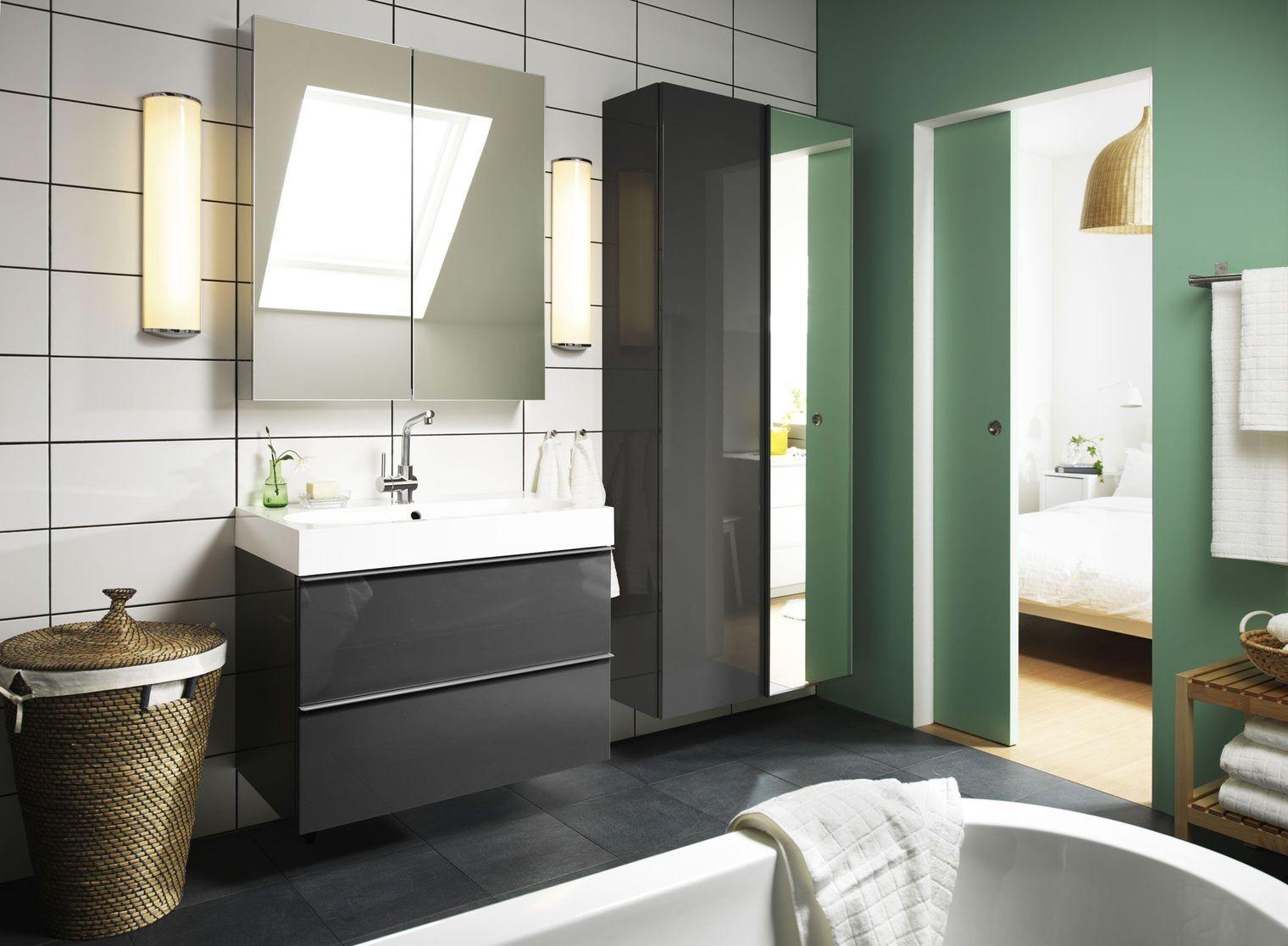 Armoire salle de bain ikea armoire id es de d coration for Petit meuble de salle de bain ikea