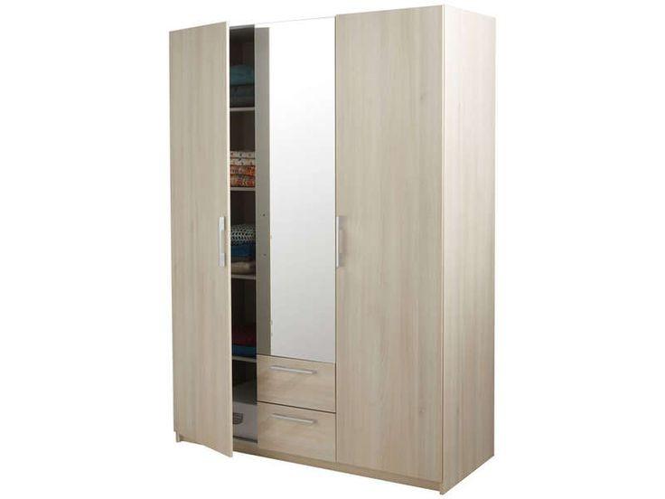Armoires 3 Portes Coulissantes Miroir