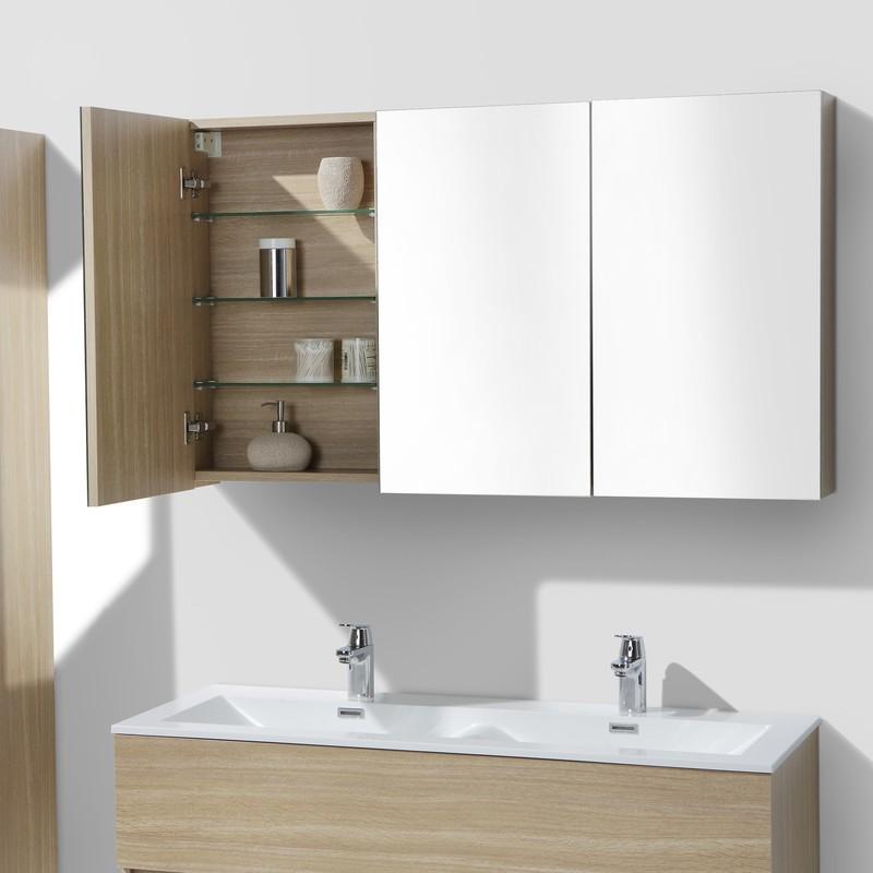 Armoires De Toilettes Avec Miroir