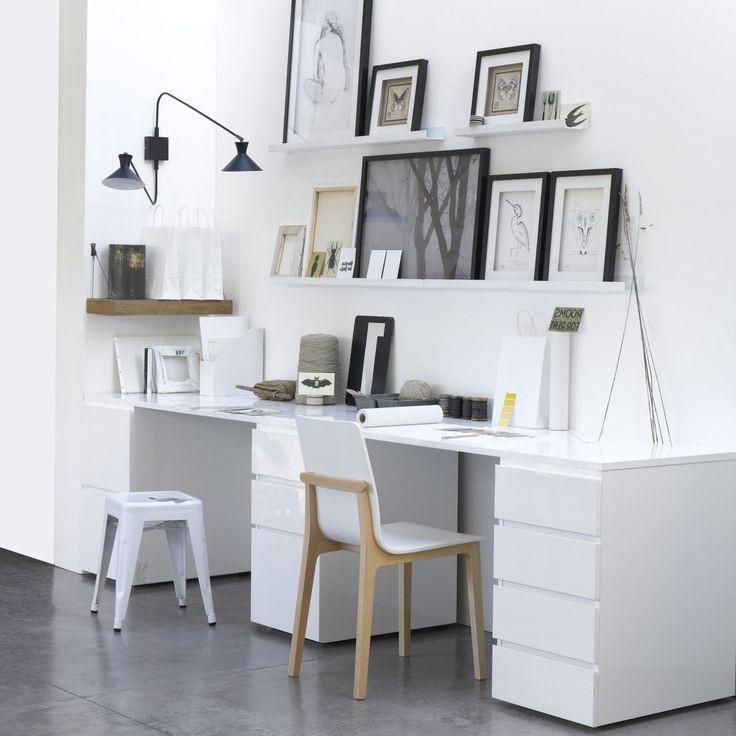 Bureau Ikea Bois Noir