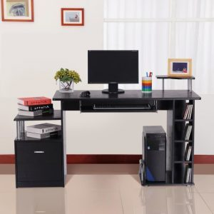 bureau d 39 angle pour ordinateur fixe bureau id es de. Black Bedroom Furniture Sets. Home Design Ideas