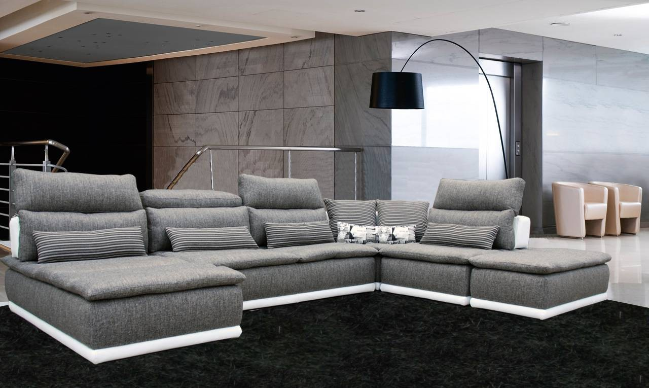 Canapé Contemporain Cuir Design