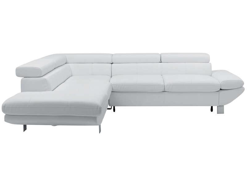Canapé D'angle Blanc Conforama