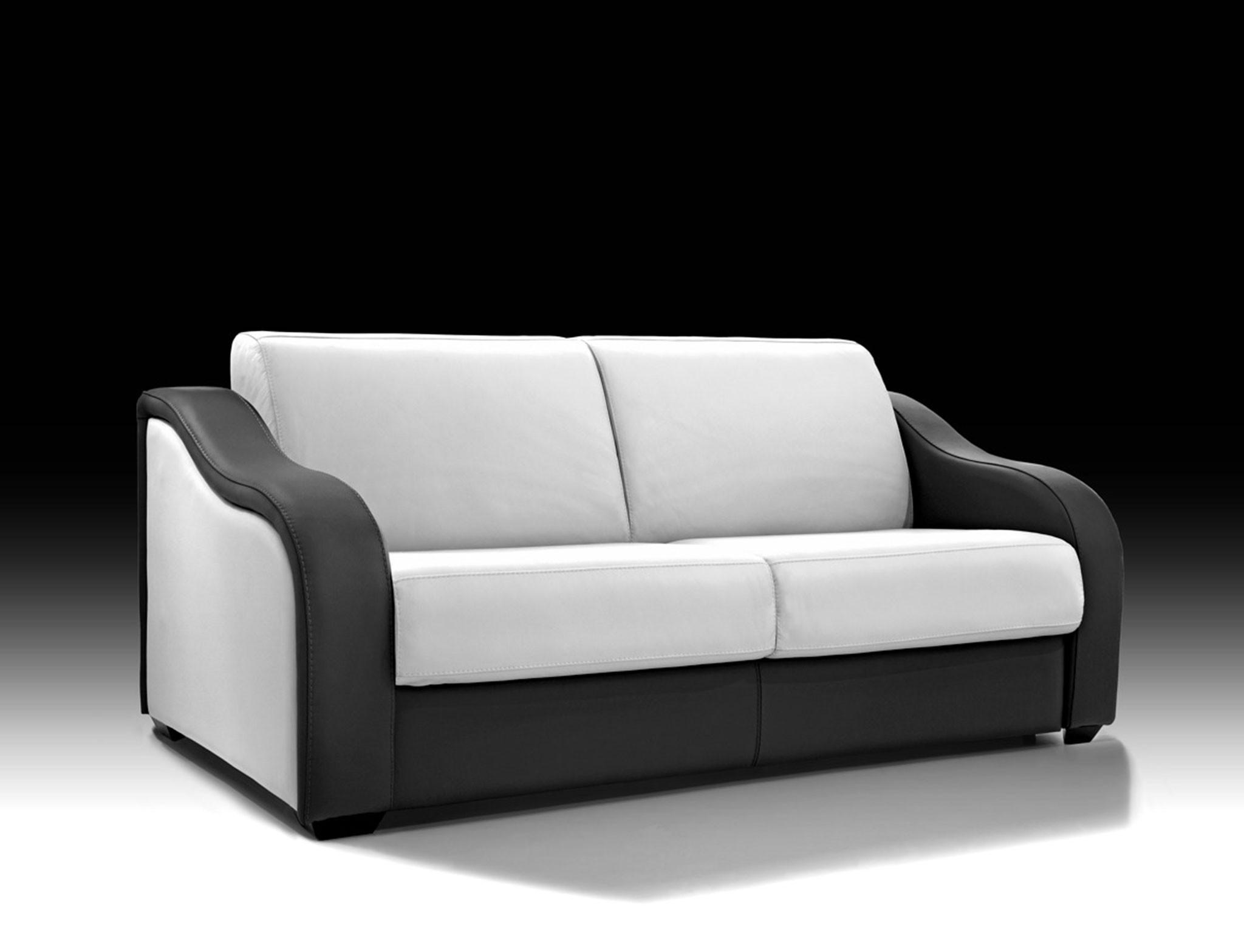 Canape Convertible Cuir Design