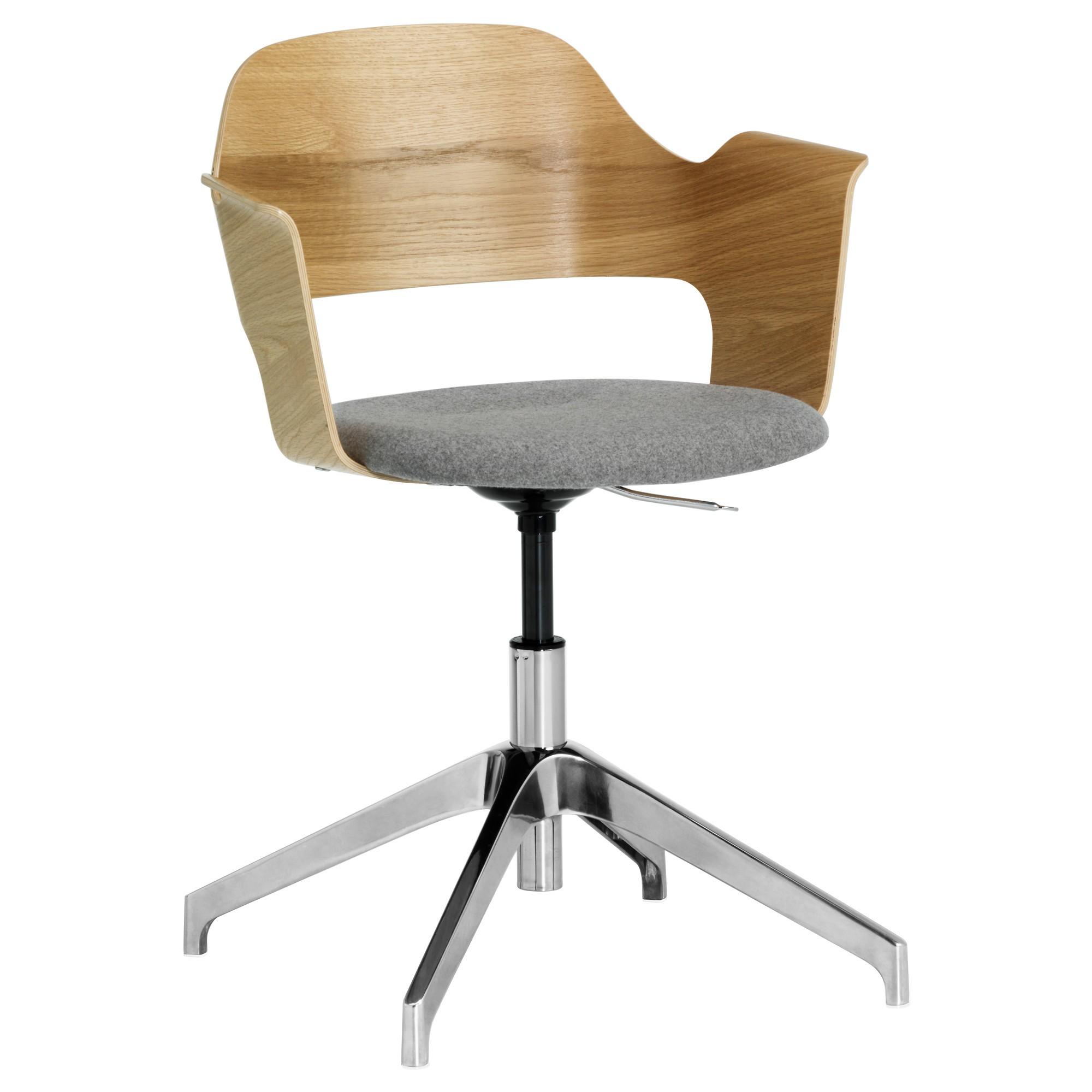 Chaise Bureau Bois Pivotant