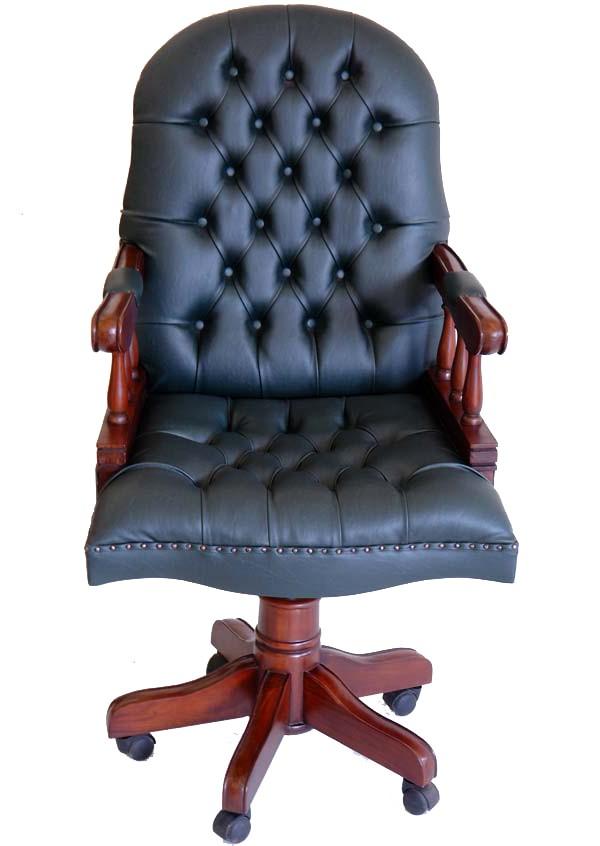 Chaise De Bureau Anglaise
