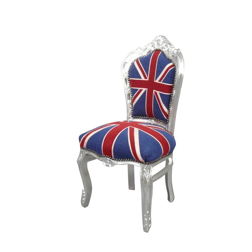 Chaise De Bureau Drapeau Anglais