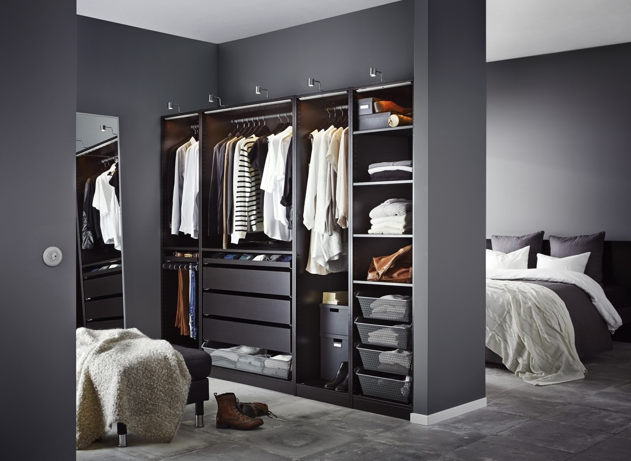dressing en sous pente ikea armoire with dressing en sous pente ikea algot systeem kvartal. Black Bedroom Furniture Sets. Home Design Ideas