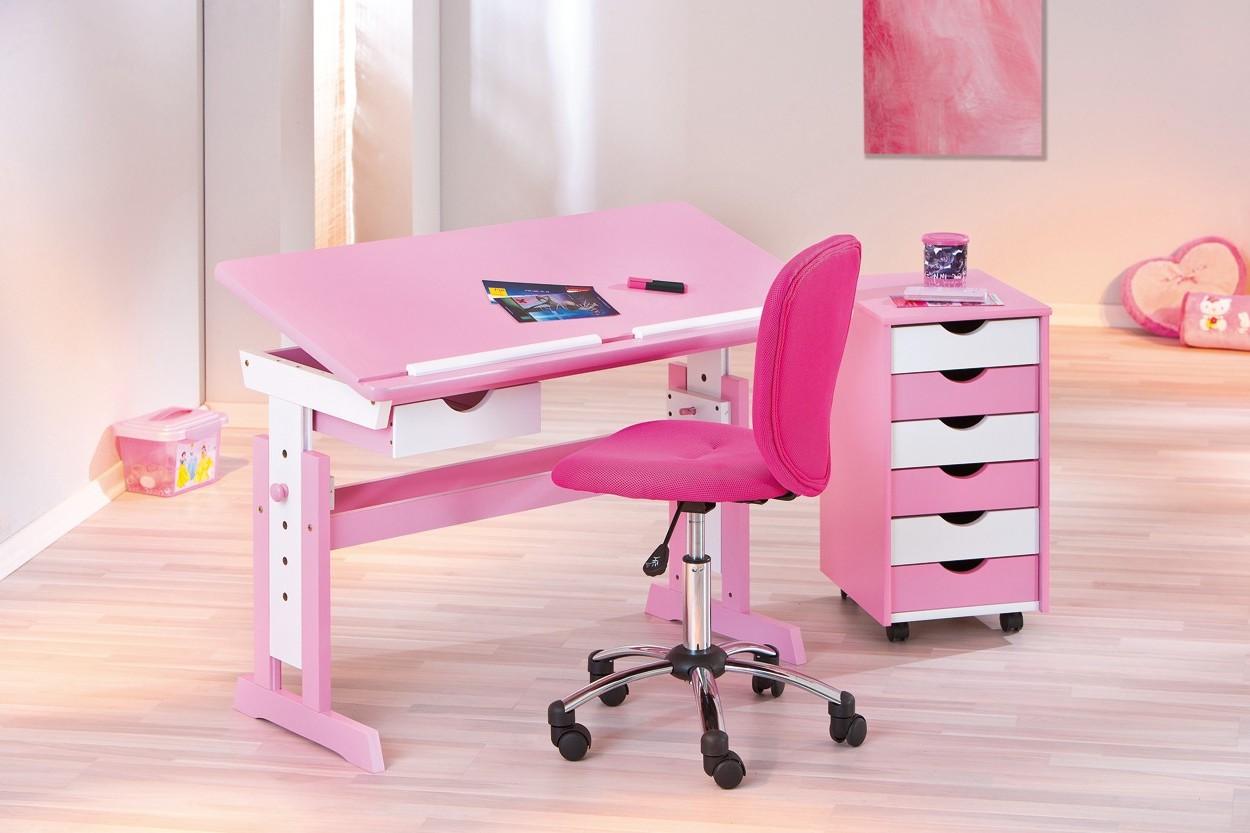 Ikea Chaise Bureau Rose