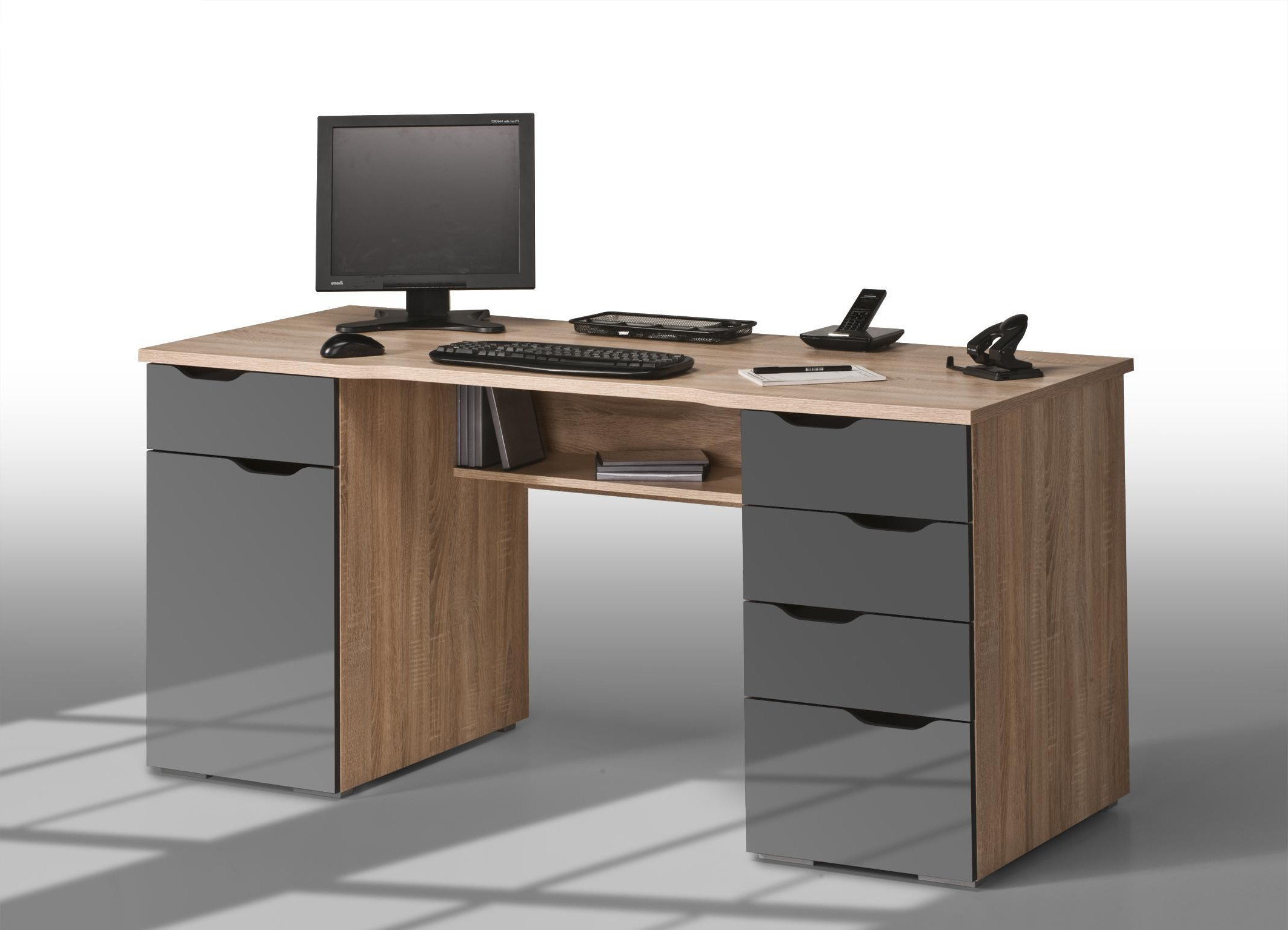 New pictures of bureau pour ordinateur bureau bureau for Bureau d angle ordinateur
