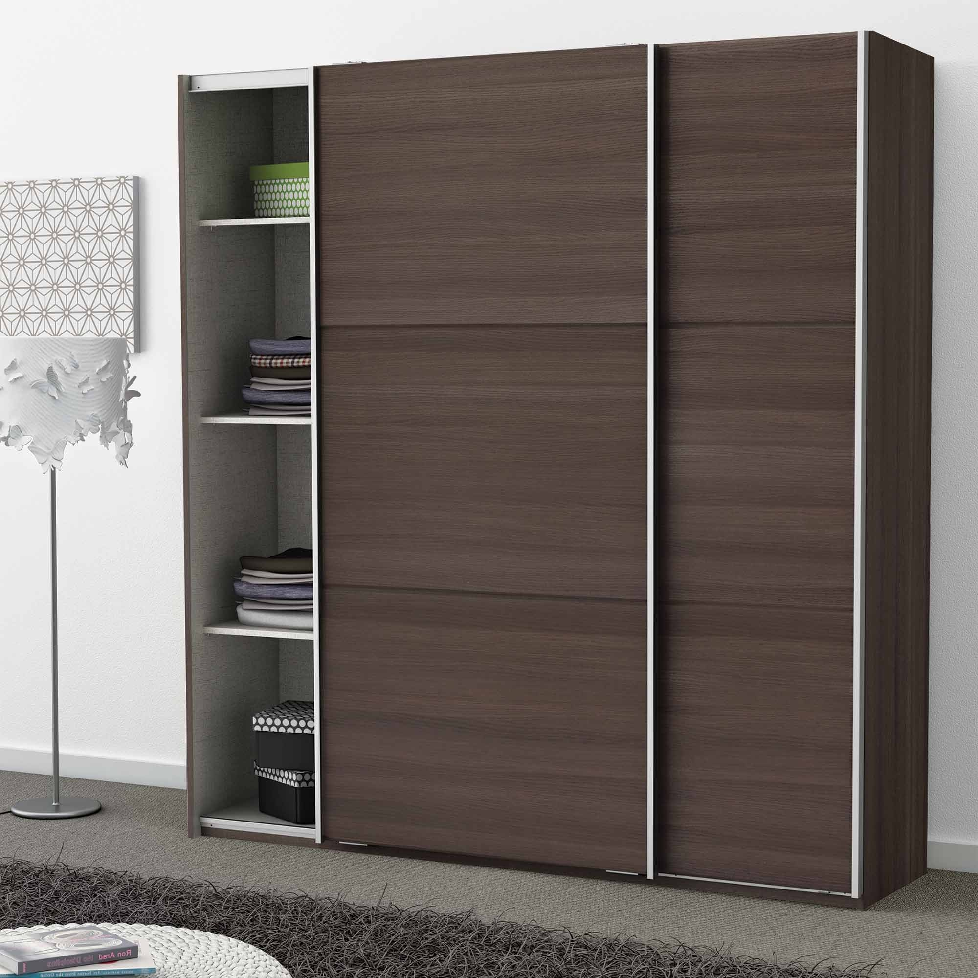 meuble chambre porte coulissante armoire id es de. Black Bedroom Furniture Sets. Home Design Ideas