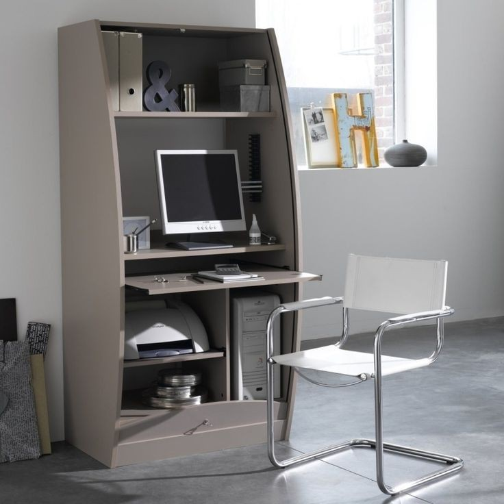 Meuble informatique ferm armoire id es de d coration - Meuble informatique ferme ...