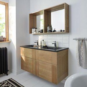 Meuble salle de bains armoire id es de d coration de maison xadnbngdlg - Armoire de salle de bain castorama ...