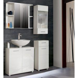 Meuble de rangement pour salle de bain but armoire for Armoire de rangement pour salle de bain