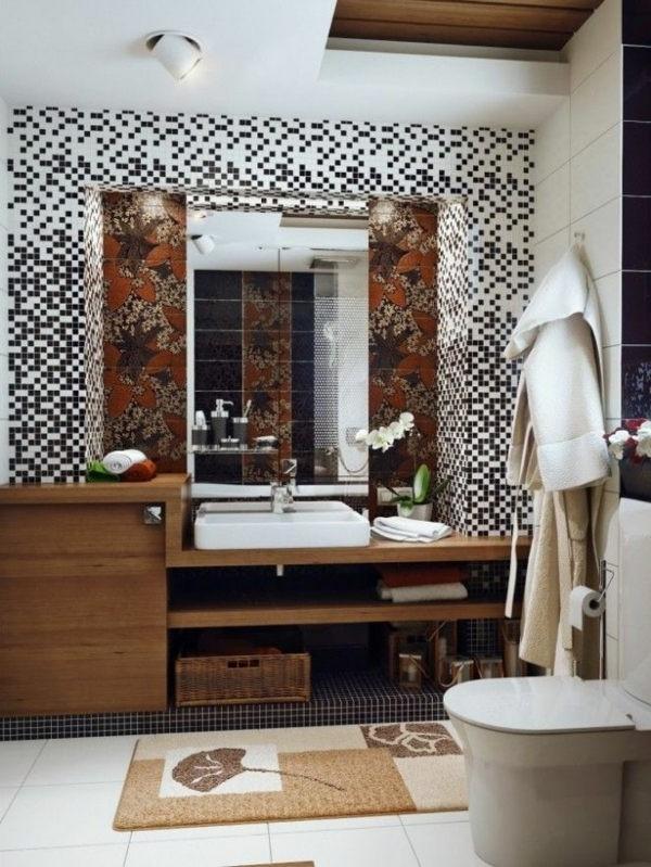 Meuble salle de bain bois brut armoire id es de for Salle de bain bois brut