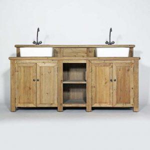 Meubles salle de bain bois massif pas cher salle de bain for Meuble salle de bain bois massif pas cher