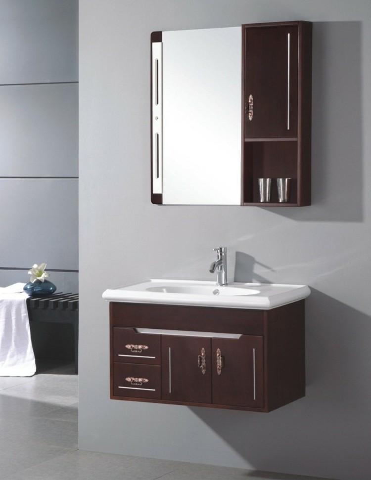 Petite Armoire De Salle De Bain Avec Miroir