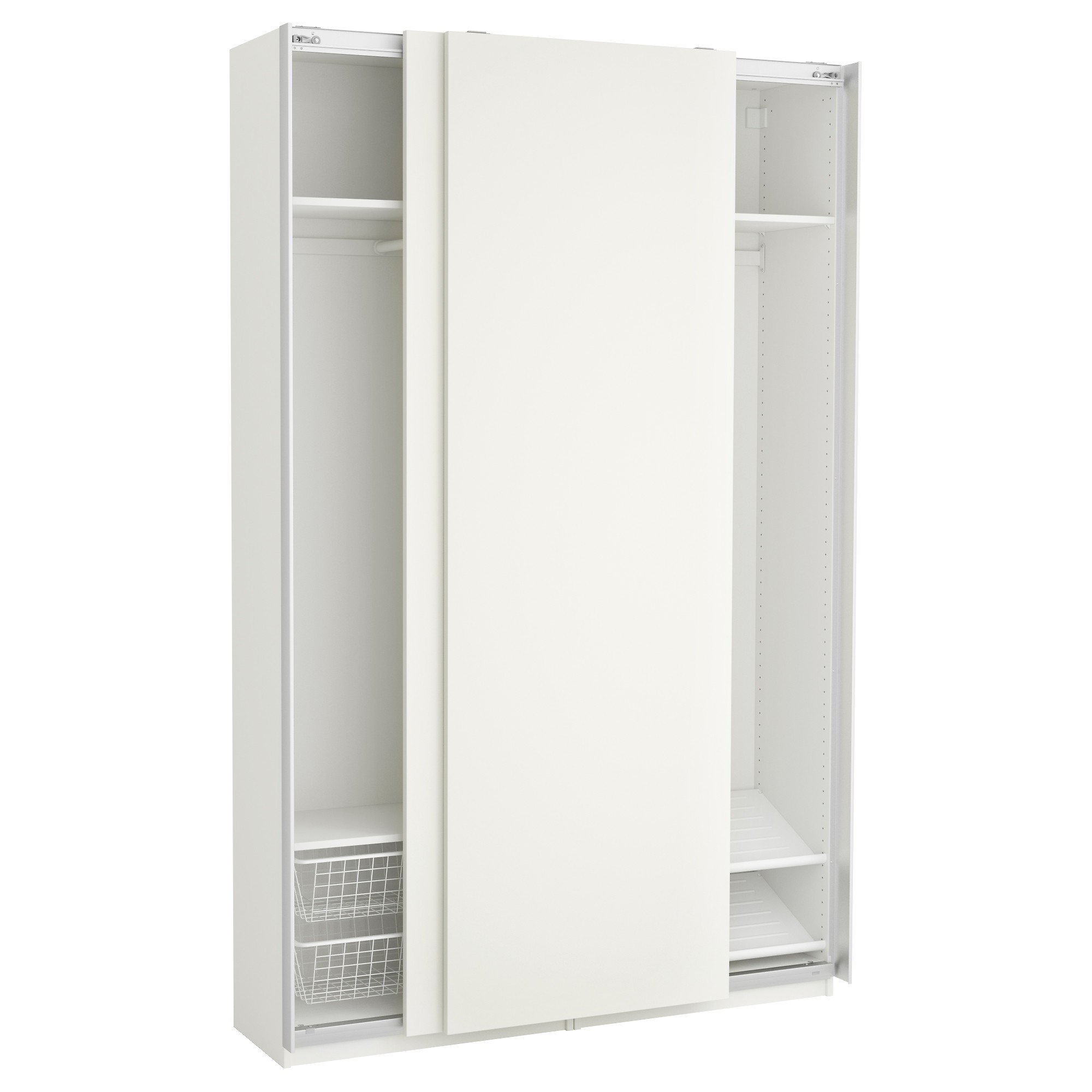 Armoire 150 Cm Portes Coulissantes Ikea