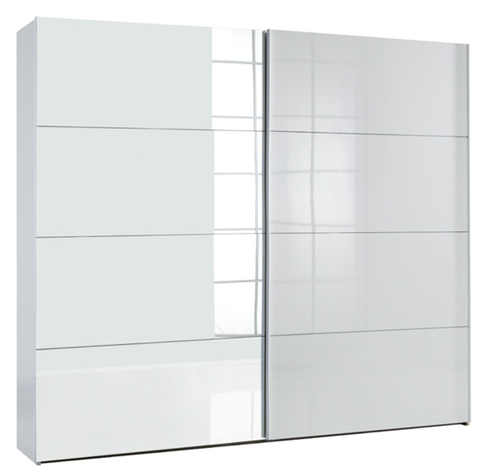 Armoire 2 Porte Coulissante Glassy