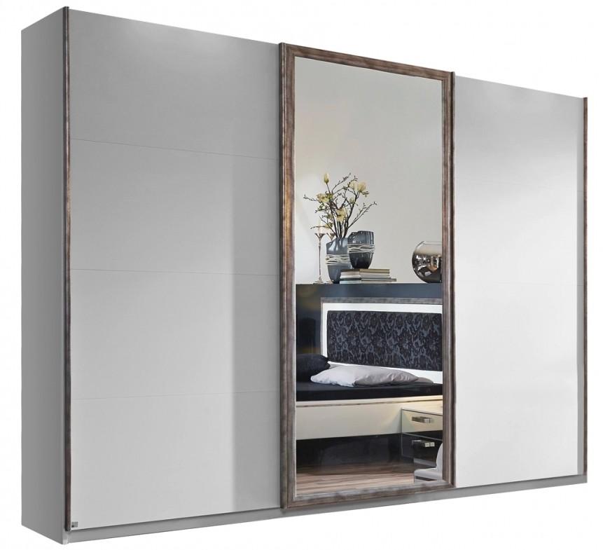 Armoire 3 Porte Coulissante Miroir