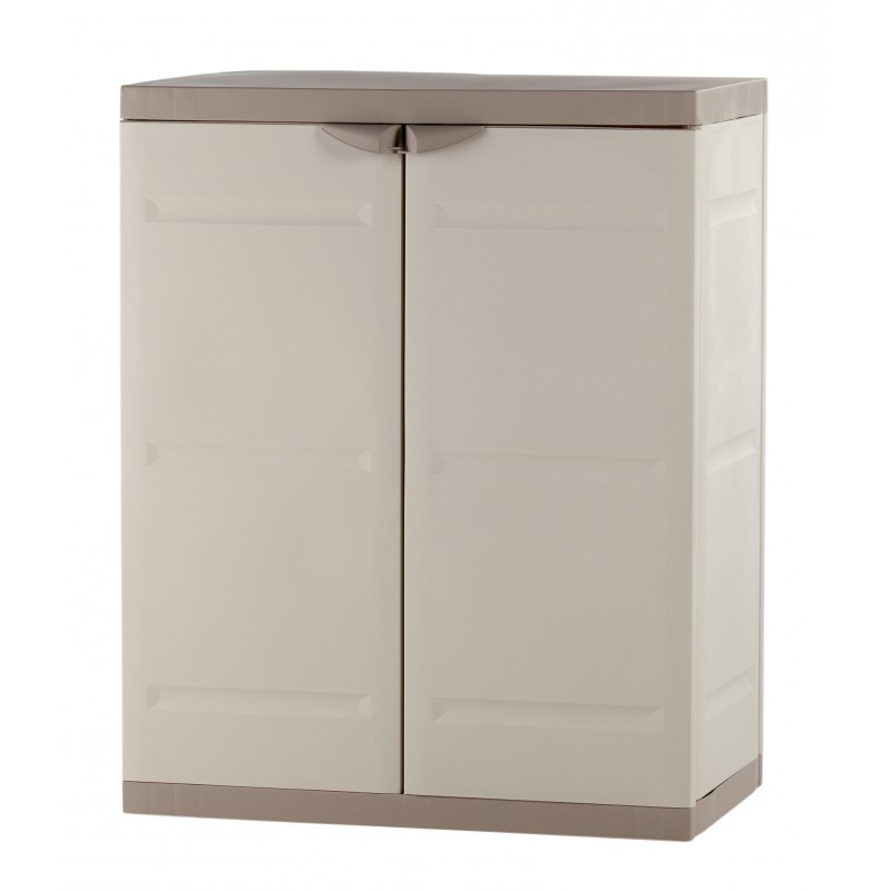 armoire basse de jardin en plastique armoire id es de. Black Bedroom Furniture Sets. Home Design Ideas