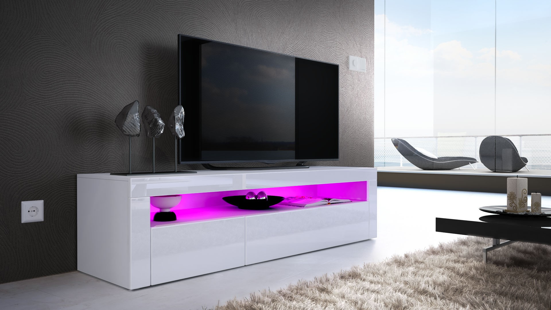Armoire basse meuble tv armoire id es de d coration de for Armoire meuble tv